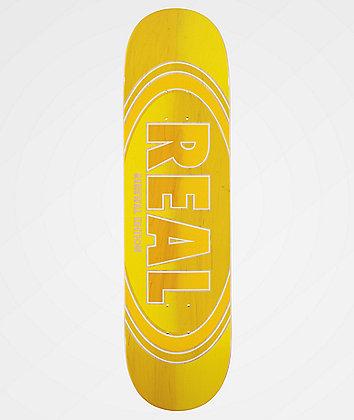 "Real Ovalduo Fade Renewal 8.25"" Skateboard Deck"
