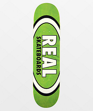 "Real Team Oval Overspray 8.06"" Skateboard Deck"