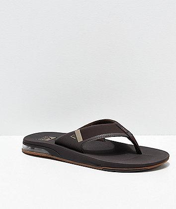 Reef Fanning 2.0 Brown & Gum Sandals