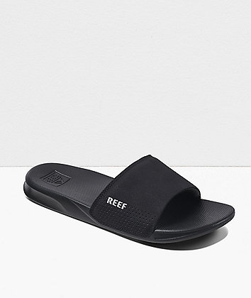 Reef One Black Sandals
