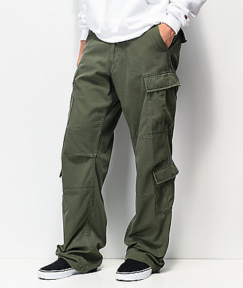 Rothco Paratrooper Vintage Olive Cargo Pants