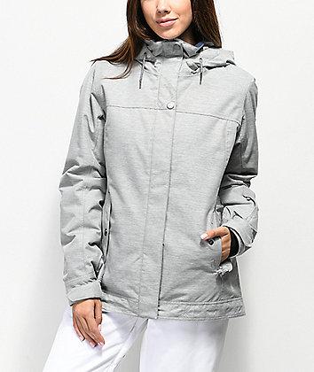 Roxy Billie Heather Grey 10K Snowboard Jacket