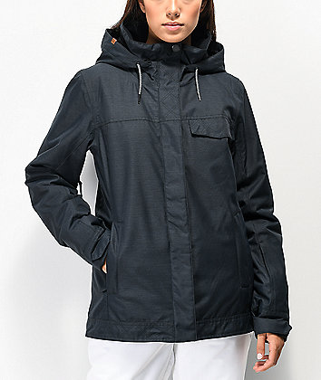 Roxy Billie True Black 10K Snowboard Jacket