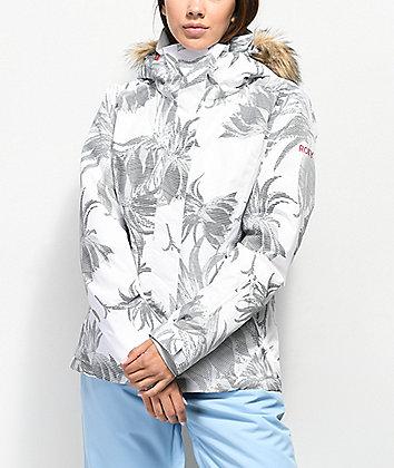 Roxy Jet Ski Swell Flowers 10K Snowboard Jacket