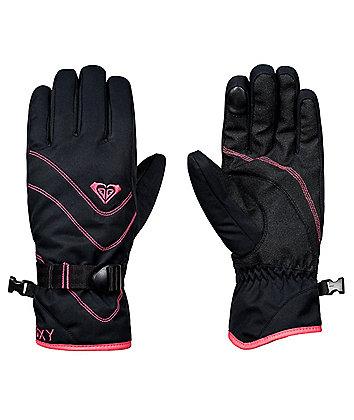 Roxy Jetty Black Snowboard Gloves 2019