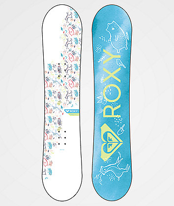 Roxy Youth Poppy Snowboard Package 2019