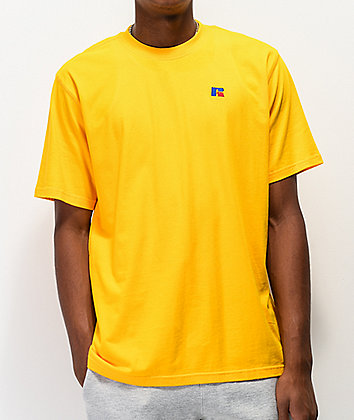 Russell Athletic Baseliner Gold T-Shirt