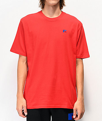 Russell Athletic Baseliner Red T-Shirt