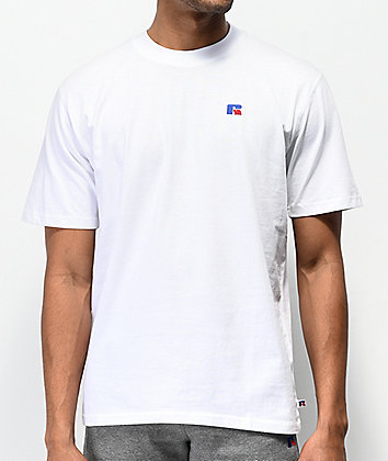 Russell Athletic Baseliner White T-Shirt