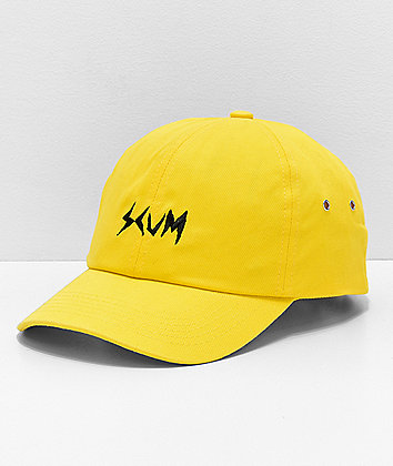 SCUM Logo Yellow Strapback Hat