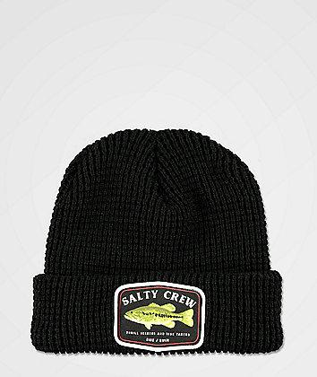 Salty Crew Bigmouth Black Beanie