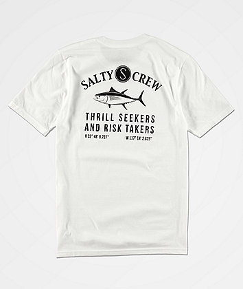 Salty Crew Boys Markets White T-Shirt