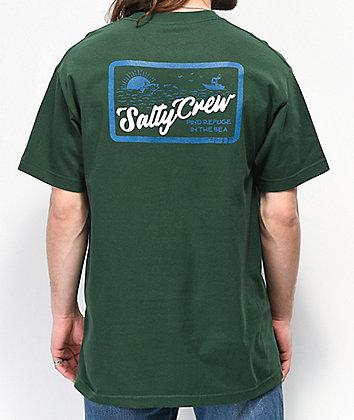 Salty Crew Foamer Green T-Shirt