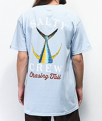 Salty Crew Tailed Light Blue T-Shirt