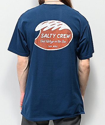 Salty Crew Washed Blue T-Shirt