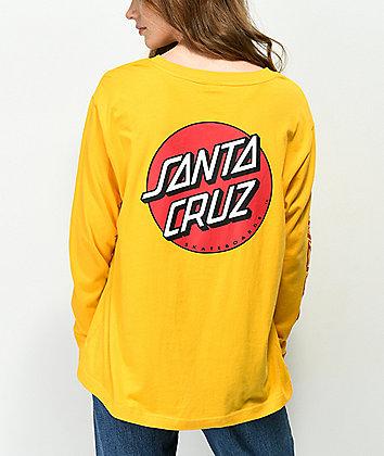 Santa Cruz Convert Gold Long Sleeve T-Shirt