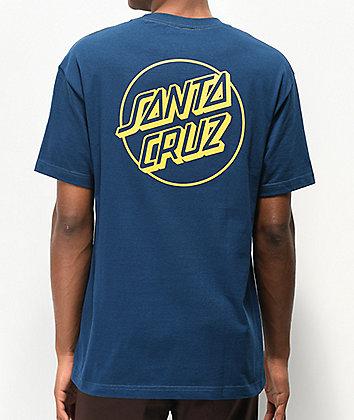 Santa Cruz Opus Dot Harbor Blue T-Shirt