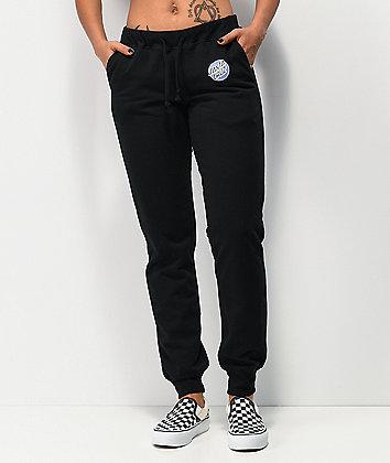 Santa Cruz Other Dot pantalones deportivos negros