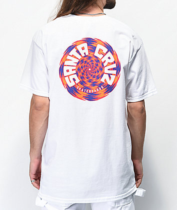 Santa Cruz Tortile White T-Shirt