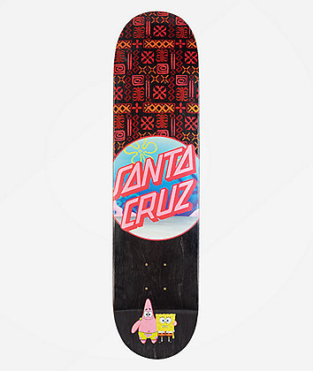 "Santa Cruz x SpongeBob SquarePants Best Buds 7.75"" Skateboard Deck"