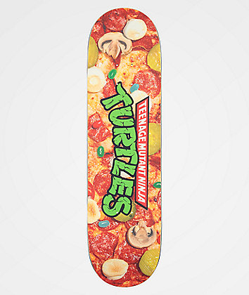 "Santa Cruz x TMNT Pizza Dude Everslick 8.25"" Skateboard Deck"
