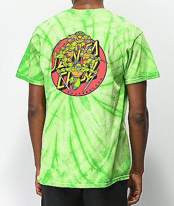 Santa Cruz x TMNT Turtle Power Green T-Shirt