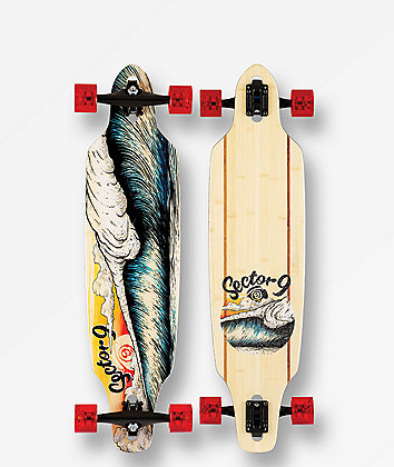 """Sector 9 Macking Mini Lookout 37"""" Drop Through Longboard Complete"""