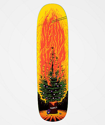 "Send Help Modica Burning Tree 8.8"" Skateboard Deck"