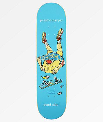 "Send Help Preston Harper Asshead 8.0"" Skateboard Deck"