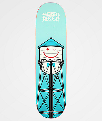"Send Help Smile 8.25"" Skateboard Deck"
