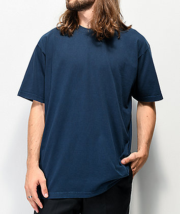 Shaka Wear Max Heavy Weight Garment Dye Navy T-Shirt