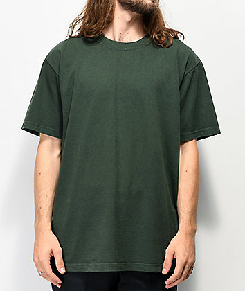 Shaka Wear Max Heavy Weight Moss Green T-Shirt