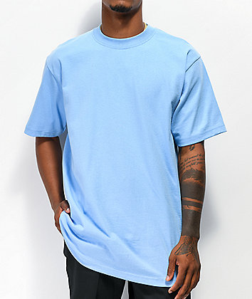 Shaka Wear Max Heavy Weight Sky Blue T-Shirt