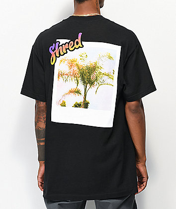 Shred Visit Heaven Black T-Shirt