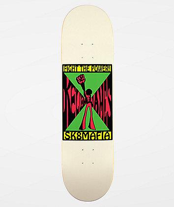"""Sk8Mafia Kellen Fight The Power 8.25"""" Skateboard Deck"""