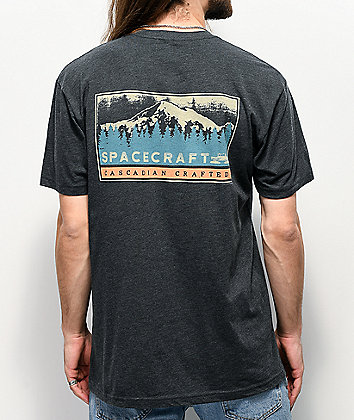 Spacecraft Cascadian Grey T-Shirt