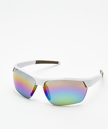 Speedster White Sunglasses