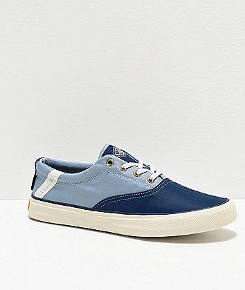 Sperry Striper II BIONIC Navy & Light Blue Shoes