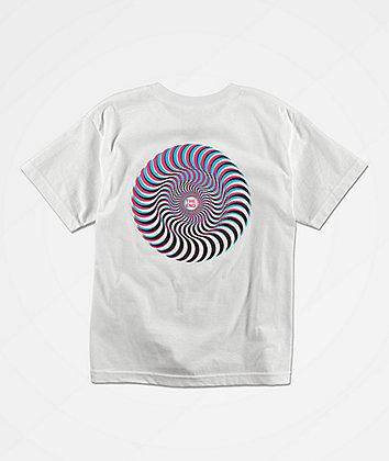 Spitfire Boys Over Swirl White T-Shirt