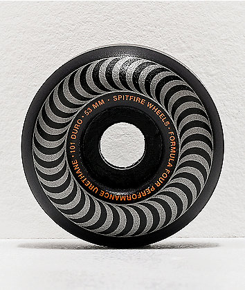 Spitfire Formula Four Blackout 53mm 101a Skateboard Wheels