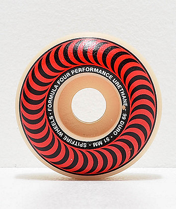 Spitfire Formula Four Classic 51mm 99a Skateboard Wheels