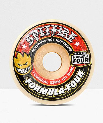 Spitfire Formula Four Conical Full 52mm Skateboard Wheels