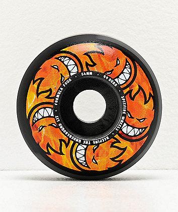 Spitfire Formula Four Hellfire Multiballs 54mm 99a Skateboard Wheels