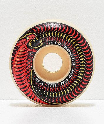 Spitfire Formula Four Venomous Radial Slim 53mm 99a Skateboard Wheels