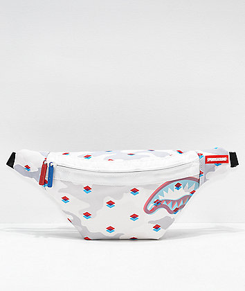 Sprayground 3D Slim Shark Fanny Pack