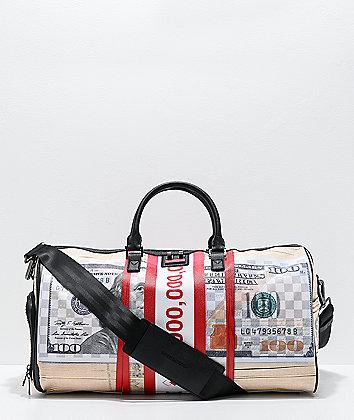 Sprayground Money Band Duffle Bag