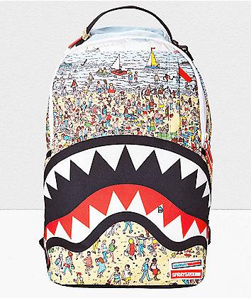 Sprayground Waldo Shark Backpack