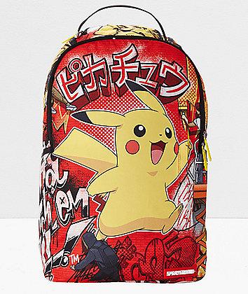 Sprayground x Pokemon Pikachu Backpack