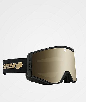 Spy Ace 25th Anniversary Black & Gold HD Snowboard Goggles