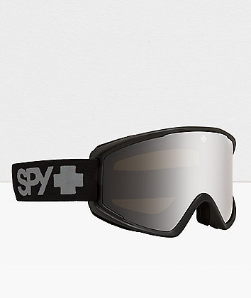 Spy Crusher Elite Black & Bronze HD Snowboard Goggles